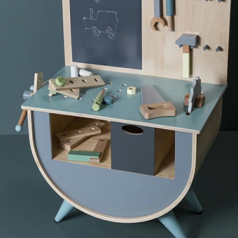 original diseño escritorio zona actividades