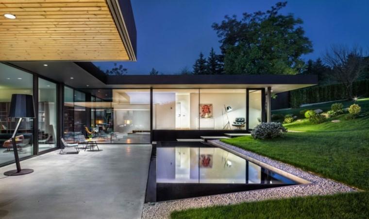 original jardin piscina moderna hogar