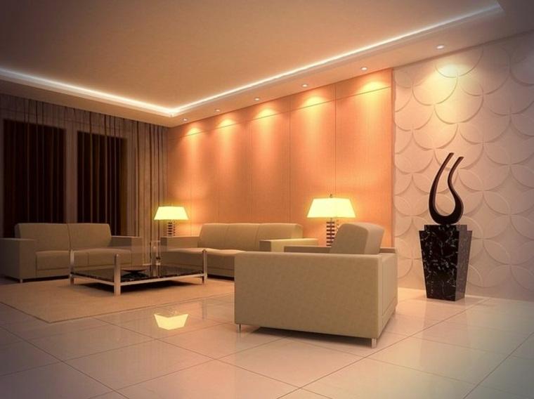 original diseño pared luces led