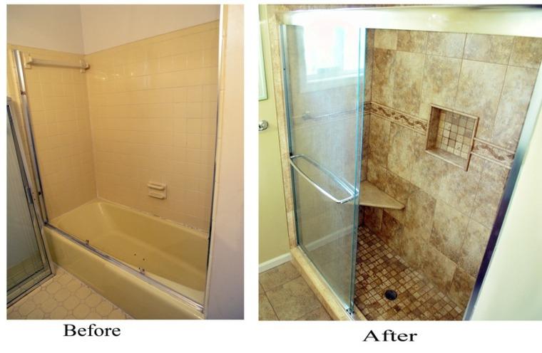 original reforma baño azulejos bano