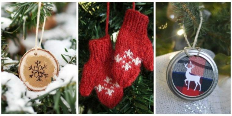 originales adornos navideños diseno casero
