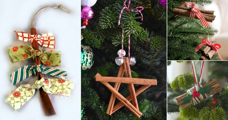 originales ideas hacer adornos Navidad