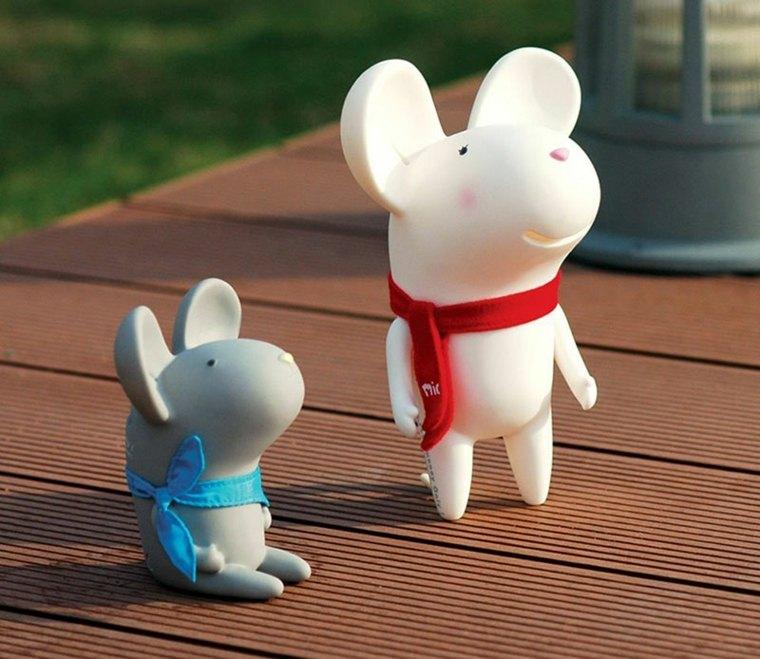 originales huchas ratones divertidos juguete