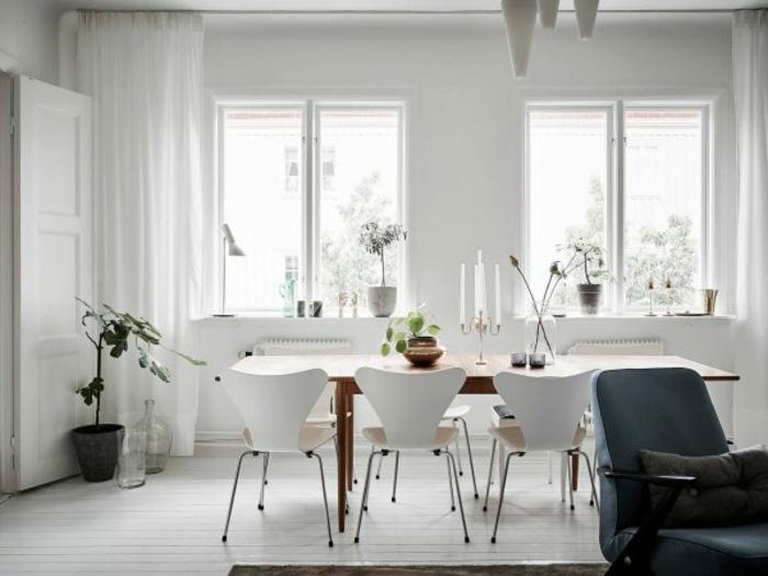 originales sillas color blanco