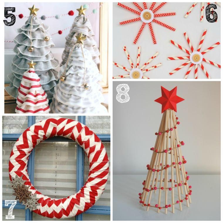 originales ideas adornos navideños