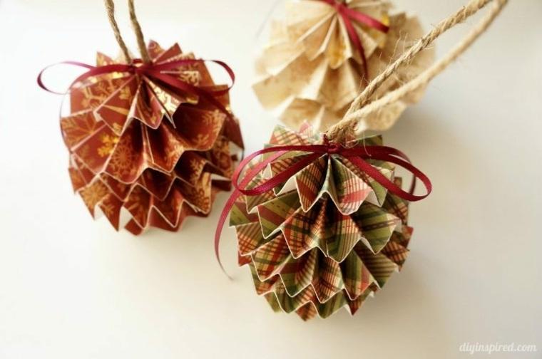 Decoracion navidea reciclada estupendas ideas
