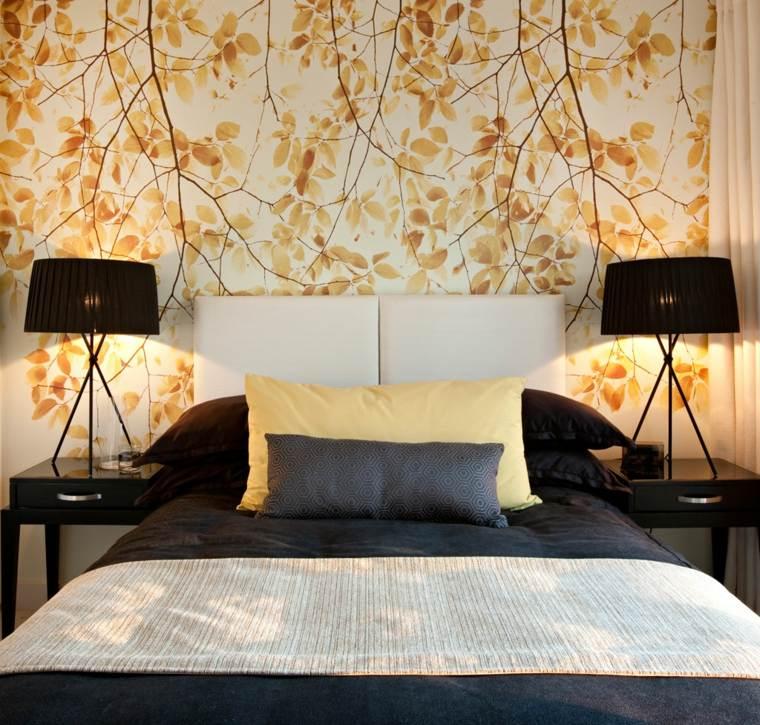 Papel para paredes una decoraci n elegante - Papel para habitaciones ...