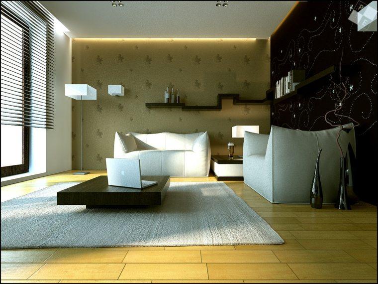 papel decorativo para paredes interior