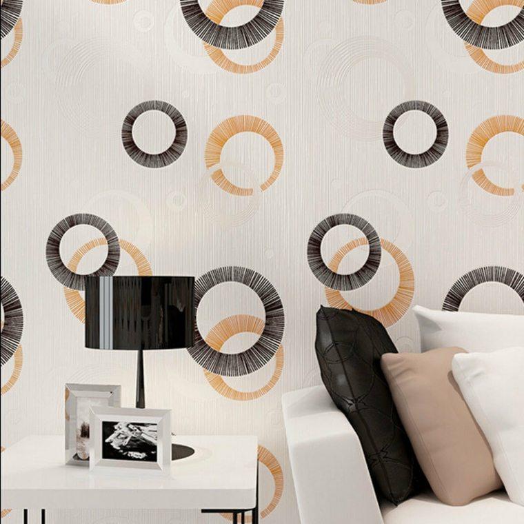 Papel para paredes una decoraci n elegante for Papel decorativo pared