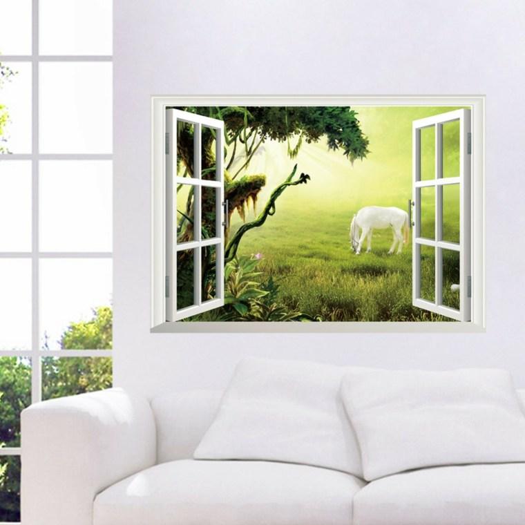 papel para paredes decorar salón
