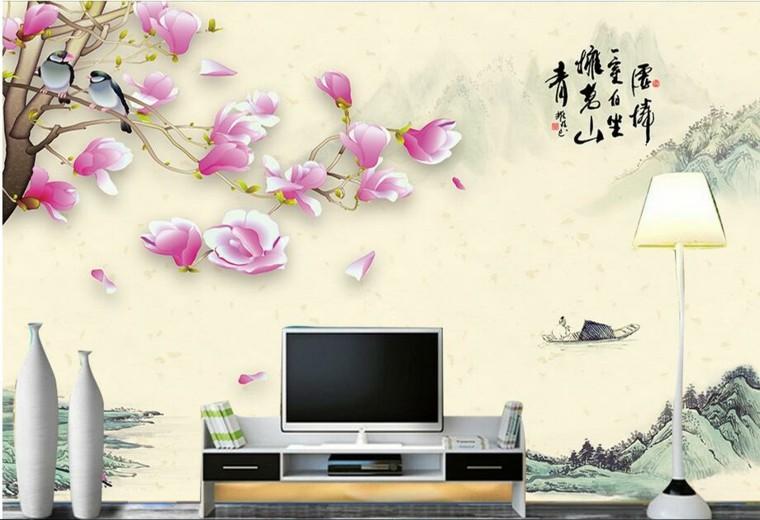 Papel Para Paredes Una Decoracion Elegante - Papeles-de-decoracion-para-paredes