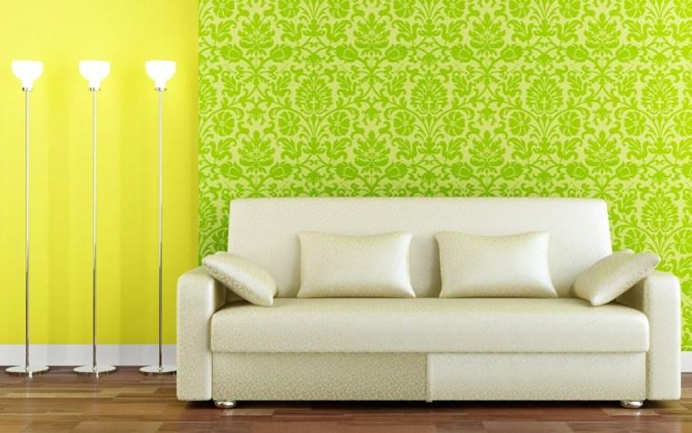 Papel para paredes, una decoración elegante -