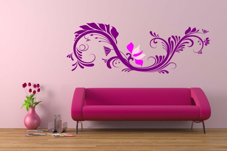 papel para paredes para decorar el interior
