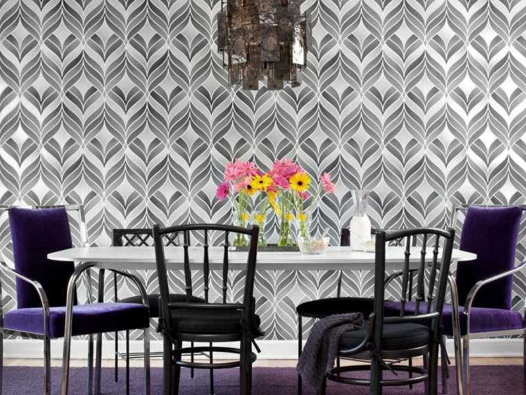 papel para paredes elegantes