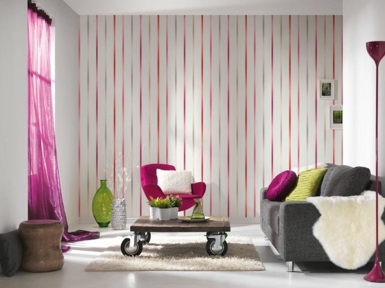papel para paredes interiores casas