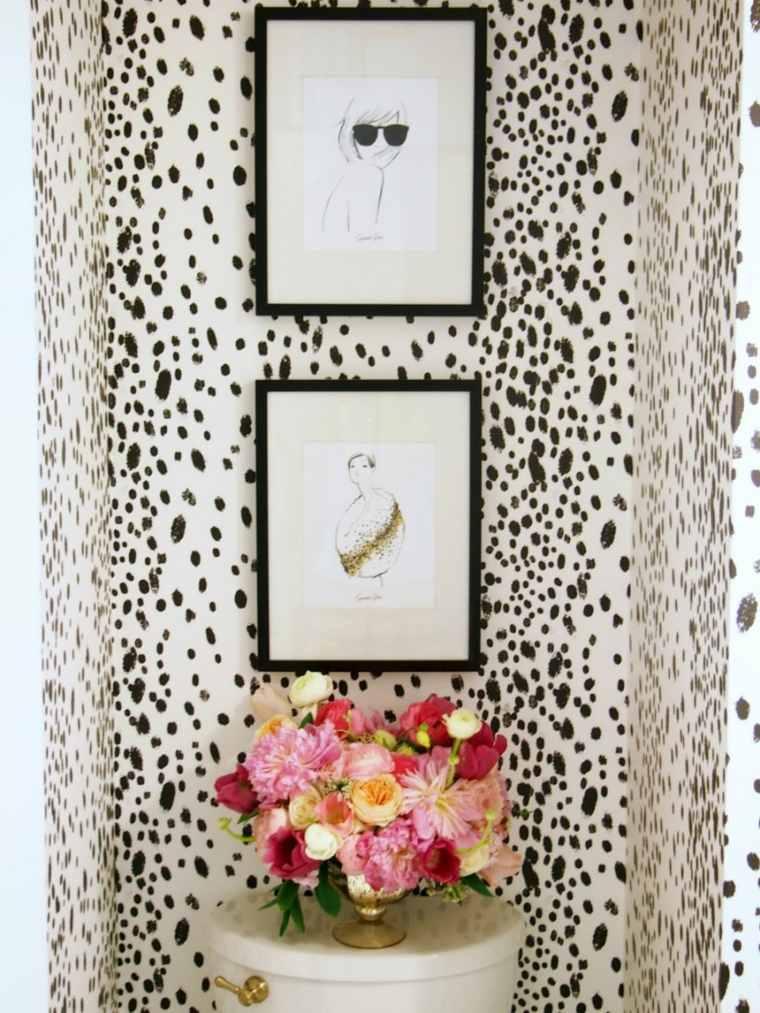 papel tapiz animal inspiracion flores