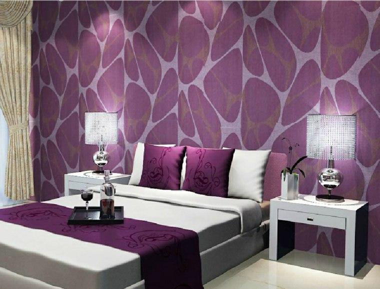 Papel para paredes una decoraci n elegante Papeles vinilicos para dormitorios