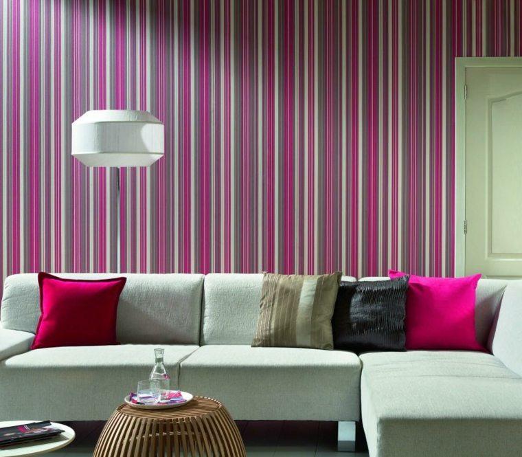 papeles para decorar paredes salón