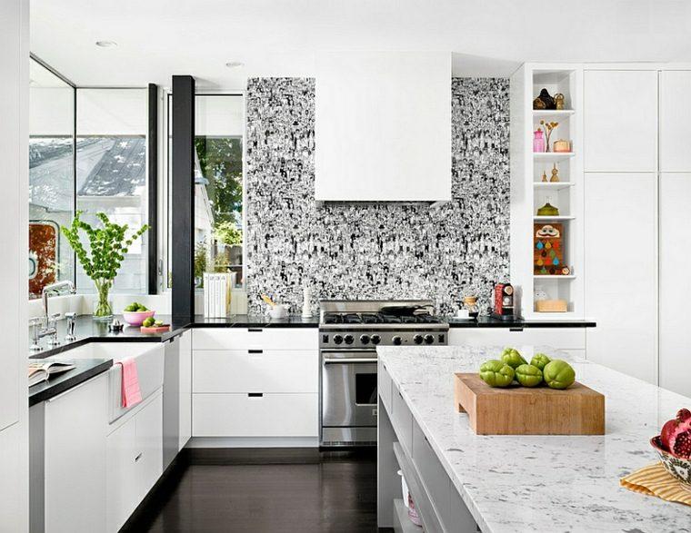 Papel para paredes de cocina reffresh kitchen regaderas - Papel pared cocina ...