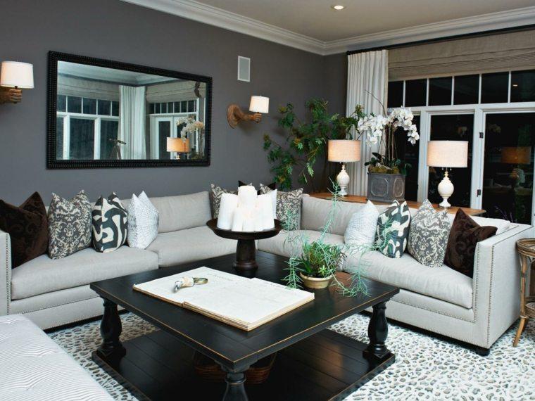 paredes-grises-muebles-blancos-salon