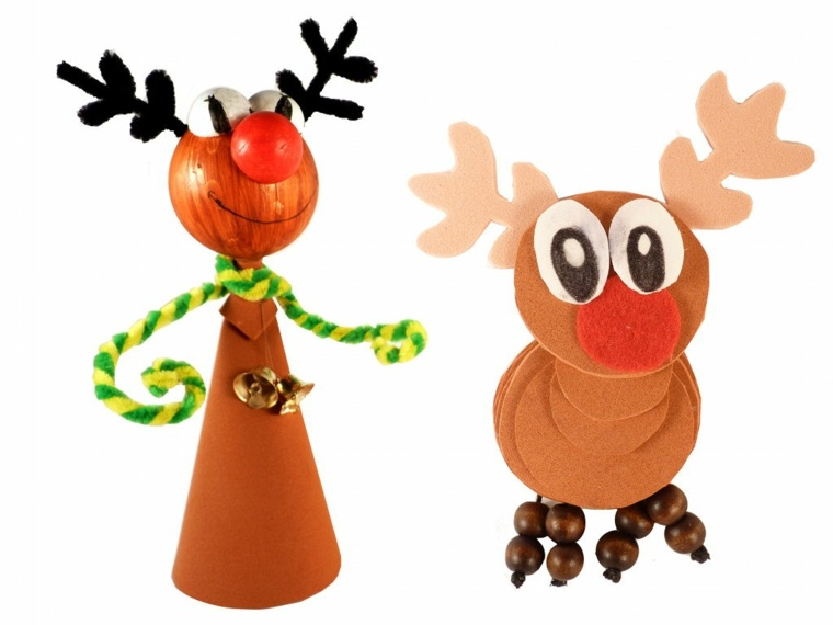 Imagenes renos navideos best en fieltro renos navideos i for Manualidades renos navidenos