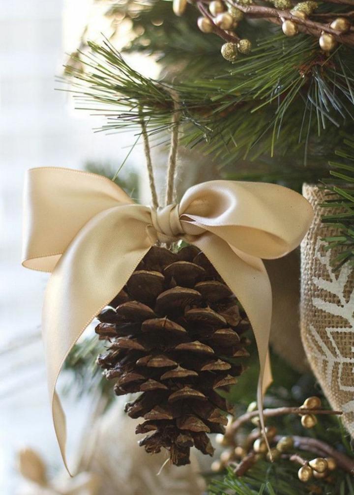 pinas decoracion colgantes cinta efectos