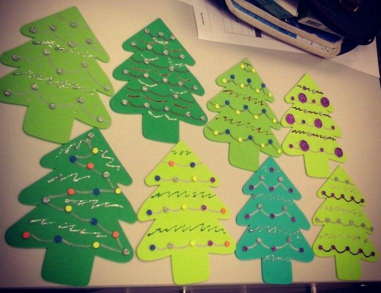 pinos decoraciones colores muestras composicin