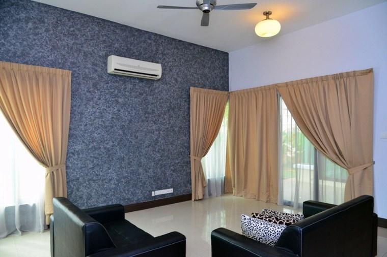 Pintura decorativa para el interior de casa - Paredes decorativas interiores ...