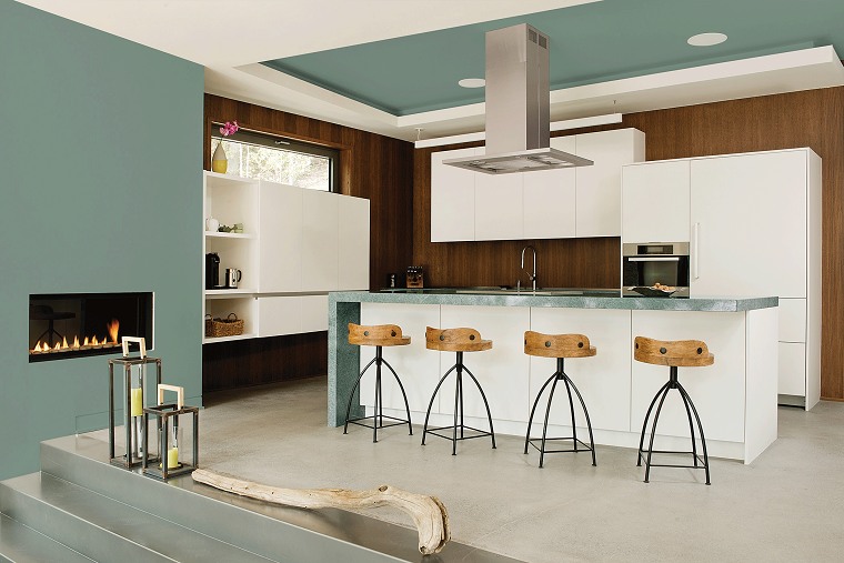 pintura para paredes ppg color 2016 cocina ideas