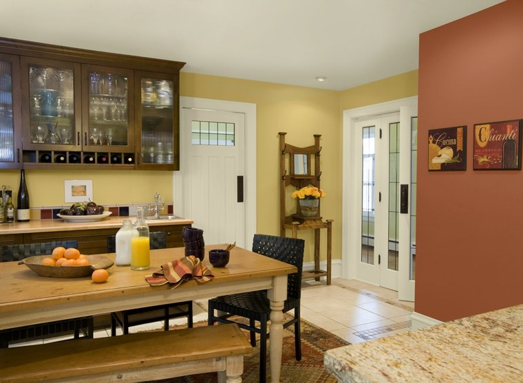 pintura para paredes los colores modernos esta temporada with paredes para cocinas