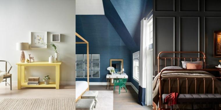 pintura para paredes colores modernos pintura casa ideas