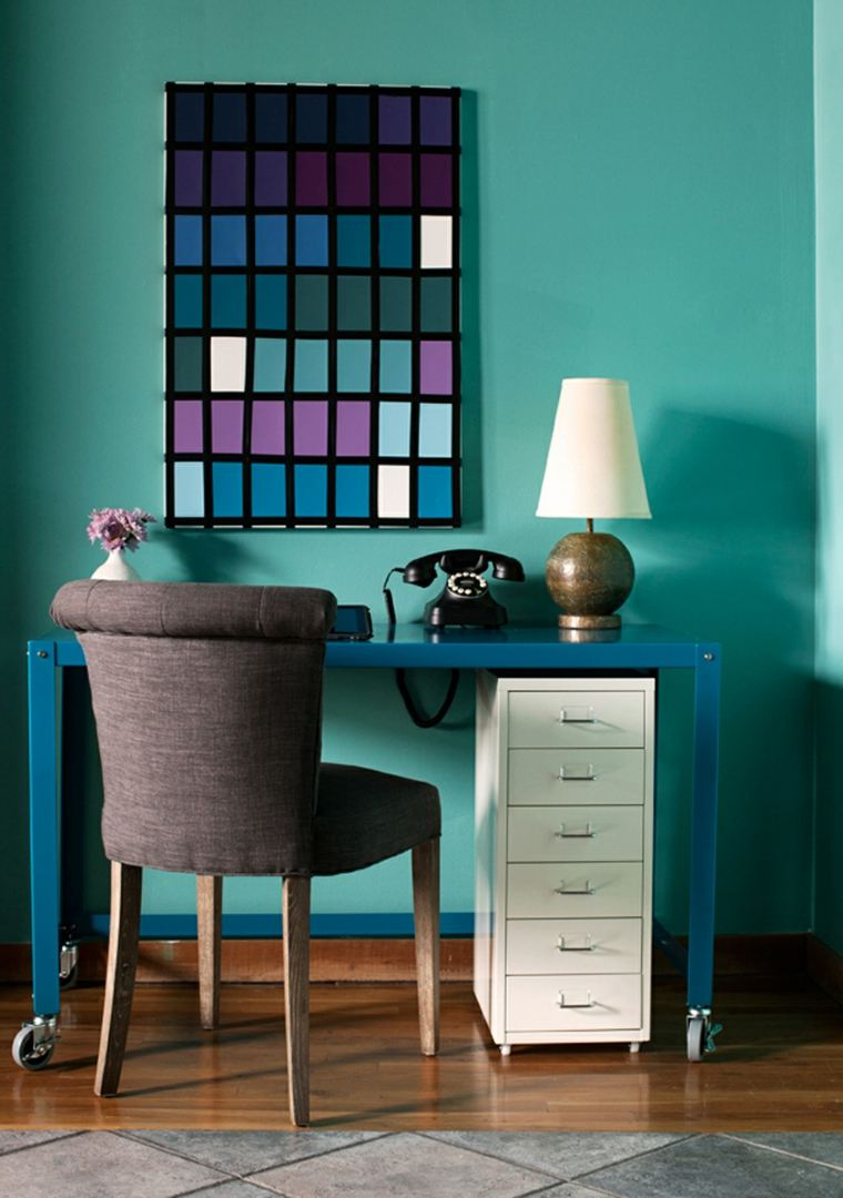 Pintura para paredes los colores modernos esta temporada for Pintura interior color arena