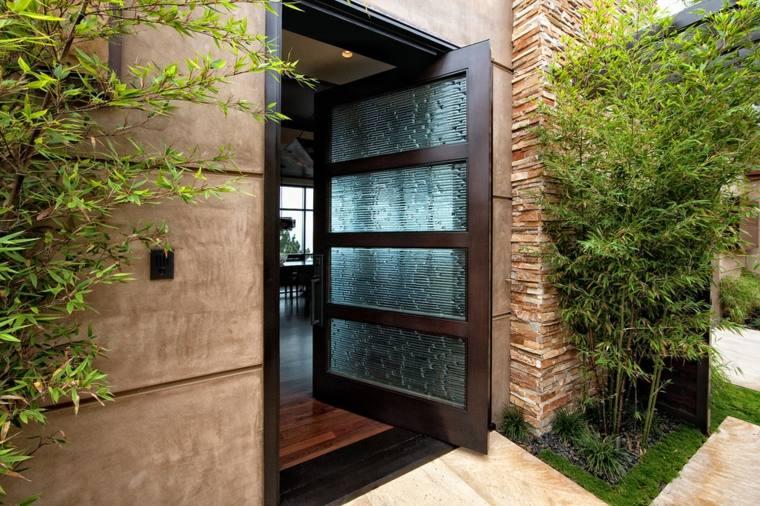 puertas diseño pivotante contemporanea bramco builders