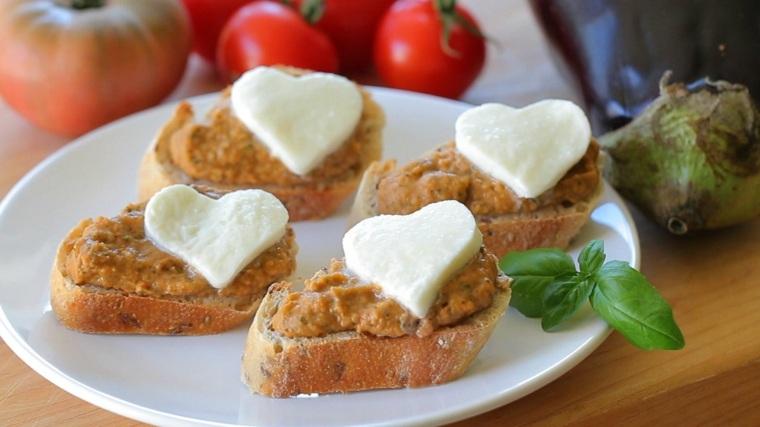 receta para crostinis fáciles hacer casa
