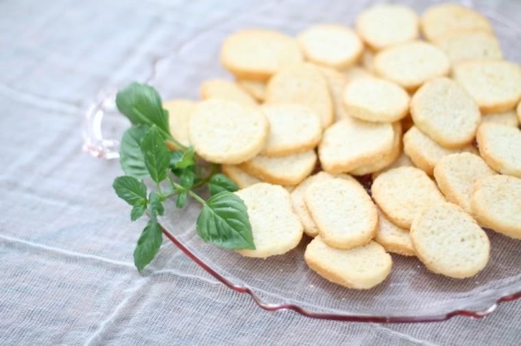 recetas fáciles crostinis