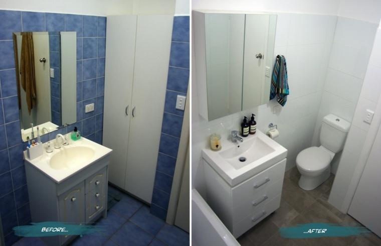 reforma baño estilo moderno