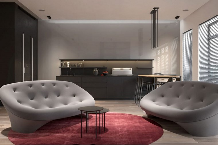 reformas cocinas apartamento moscu kdva architects ideas