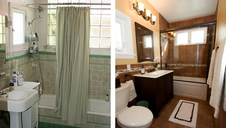reformas de baños ideas antes