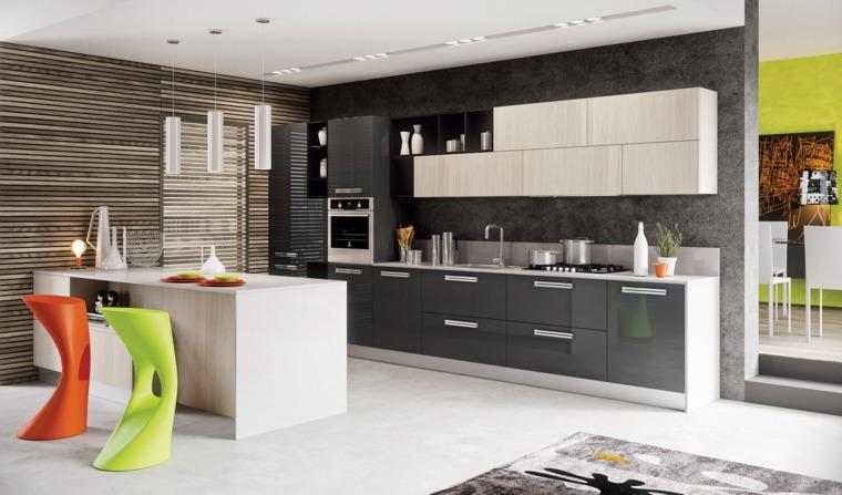 Remodelaci n de cocinas modernas y elegantes for Cocinas integrales grandes modernas