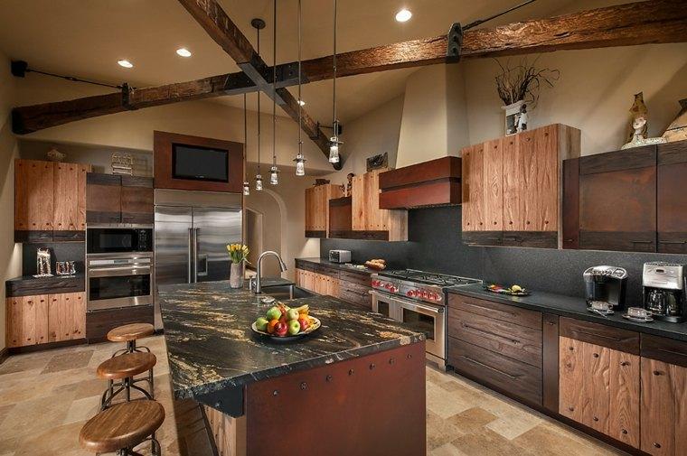 remodelación de cocinas madera