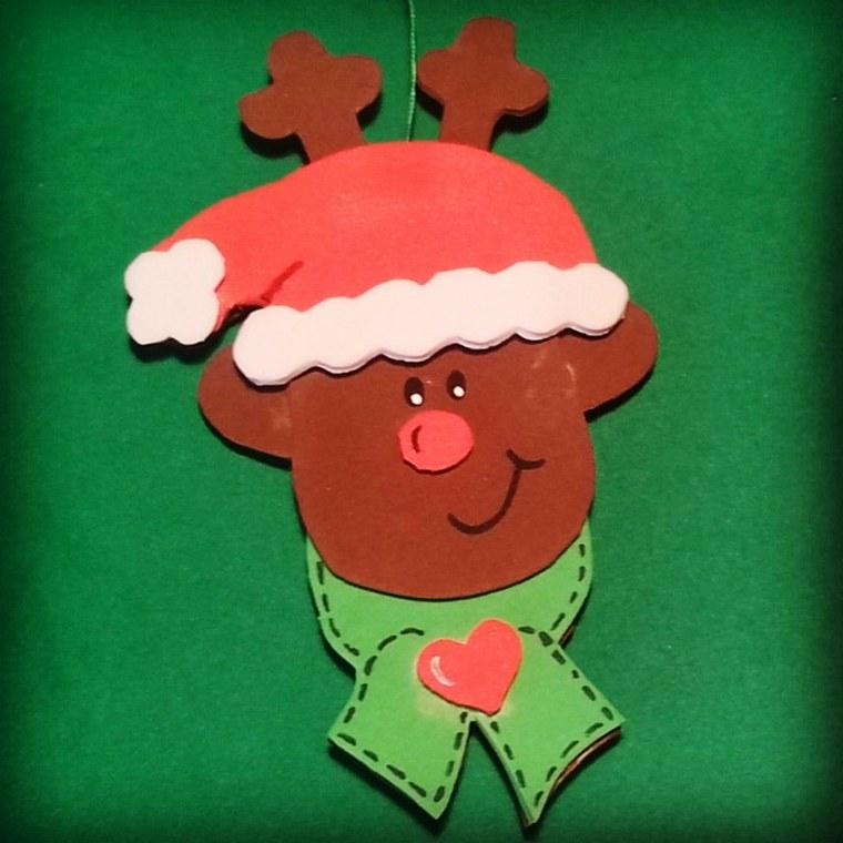 Goma eva para crear manualidades navide as asombrosas - Decoracion navidad goma eva ...