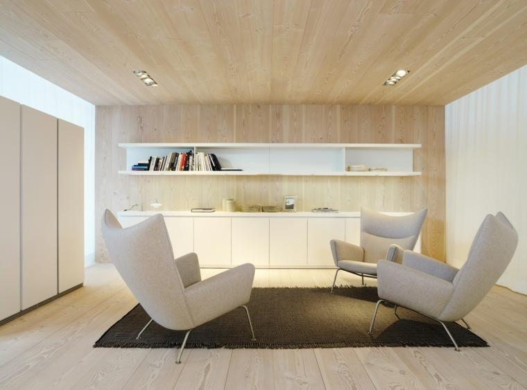 Revestimiento de paredes 6 materiales para la pared interior for Paneles de madera para pared