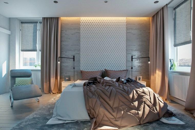 revestimientos de paredes hormigon decoracion ideas