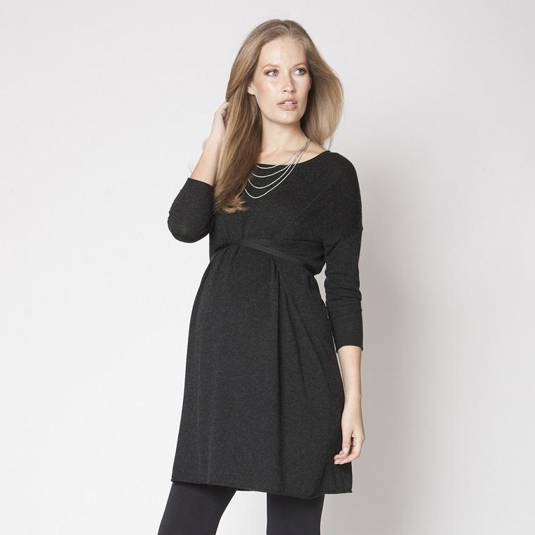 ropa-embarzadas-vestido-comodo-negro
