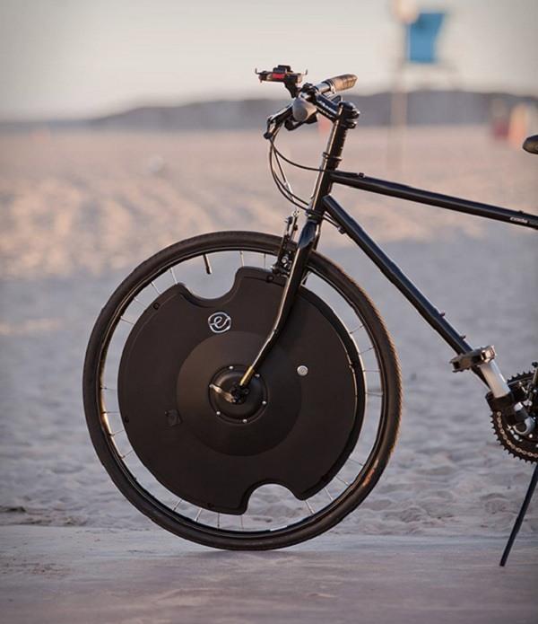 rueda especial montada adaptada