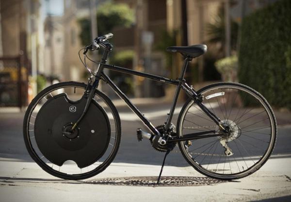 rueda especial transformada bici color