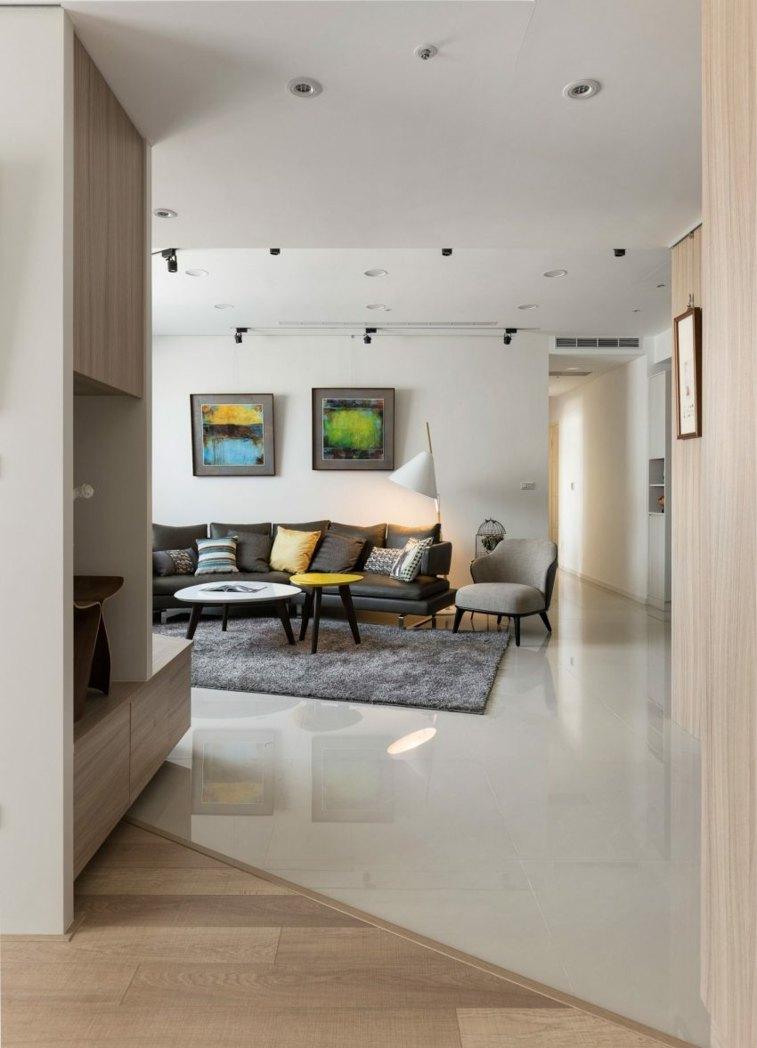 sala de estar diseno moderno