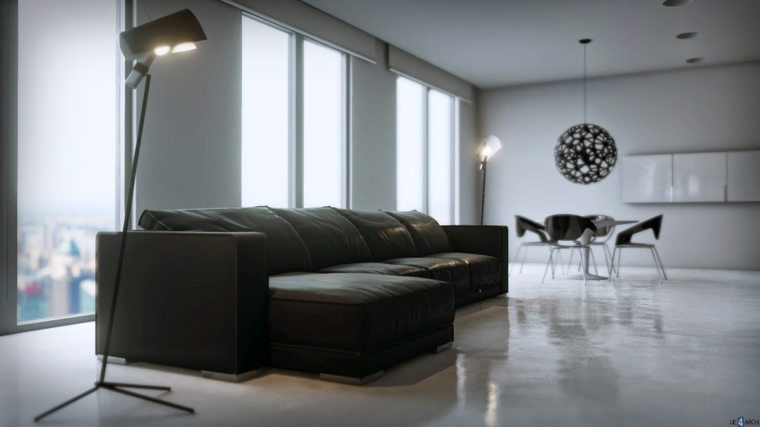 sala de estar salon comedor