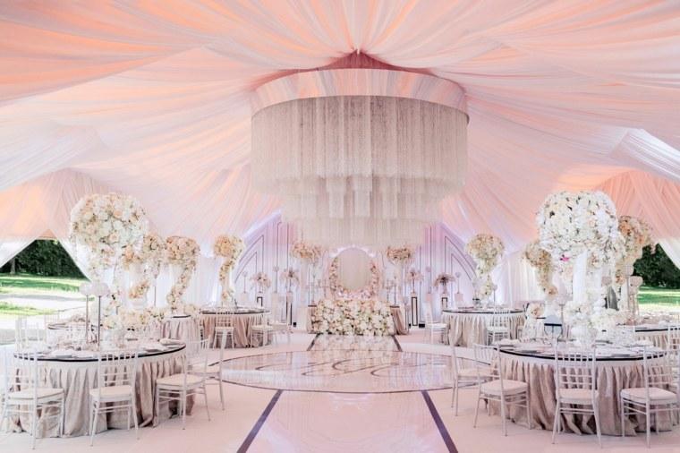 sala recepcion decoracion opciones boda ideas