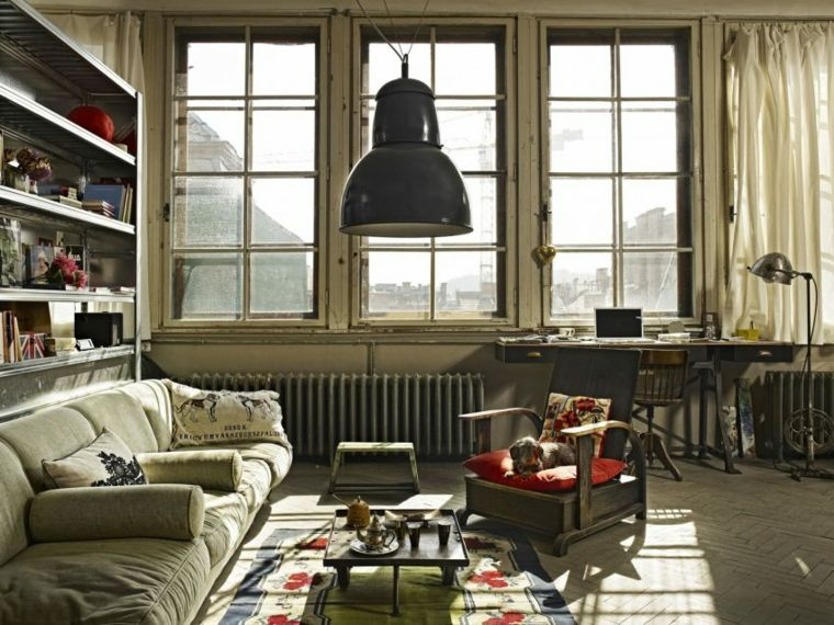 salon apartamento disenado a z design studio ideas